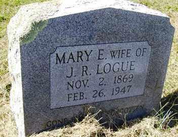 LOGUE, MARY ELLIE - Franklin County, Arkansas   MARY ELLIE LOGUE - Arkansas Gravestone Photos