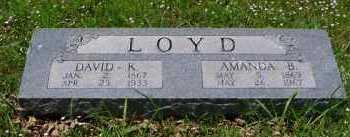 LOYD, AMANDA BELL - Franklin County, Arkansas | AMANDA BELL LOYD - Arkansas Gravestone Photos