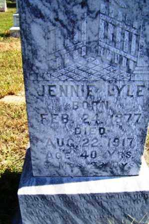 LYLE, JENNIE - Franklin County, Arkansas | JENNIE LYLE - Arkansas Gravestone Photos