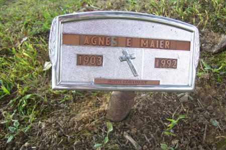 MCCALLESTER MAIER, AGNES E. - Franklin County, Arkansas | AGNES E. MCCALLESTER MAIER - Arkansas Gravestone Photos
