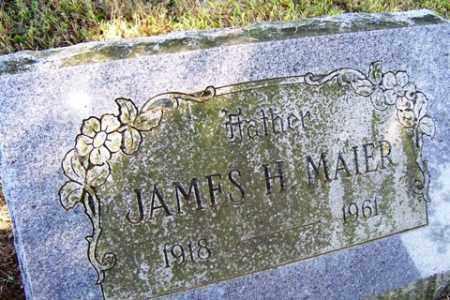 MAIER, JAMES H. - Franklin County, Arkansas | JAMES H. MAIER - Arkansas Gravestone Photos