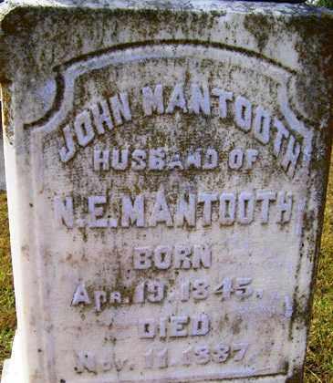 MANTOOTH, JOHN - Franklin County, Arkansas   JOHN MANTOOTH - Arkansas Gravestone Photos