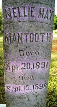 MANTOOTH, NELLIE MAY - Franklin County, Arkansas | NELLIE MAY MANTOOTH - Arkansas Gravestone Photos