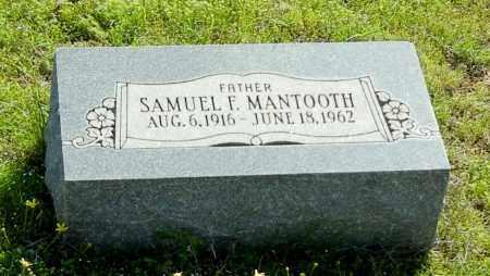 MANTOOTH, SAMUEL F - Franklin County, Arkansas | SAMUEL F MANTOOTH - Arkansas Gravestone Photos