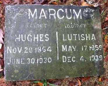MARCUM, HUGHES - Franklin County, Arkansas | HUGHES MARCUM - Arkansas Gravestone Photos