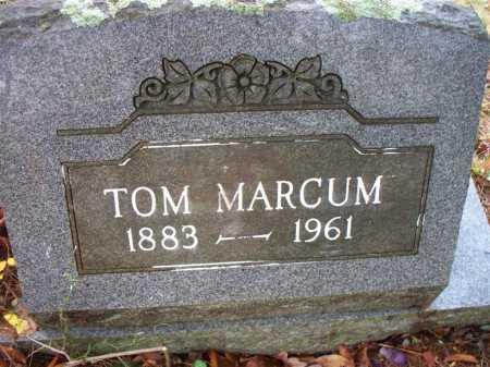 MARCUM, TOM - Franklin County, Arkansas | TOM MARCUM - Arkansas Gravestone Photos