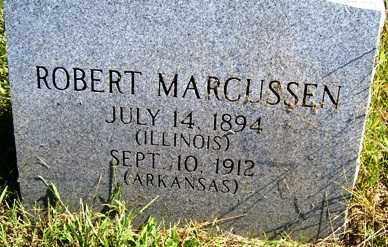 MARCUSSEN, ROBERT - Franklin County, Arkansas | ROBERT MARCUSSEN - Arkansas Gravestone Photos