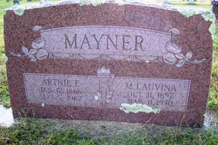 MAYNER, M LAUVINA - Franklin County, Arkansas | M LAUVINA MAYNER - Arkansas Gravestone Photos
