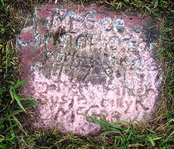 MCGEE, CHRISTOPHER EARL - Franklin County, Arkansas | CHRISTOPHER EARL MCGEE - Arkansas Gravestone Photos