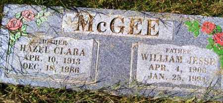MCGEE, WILLIAM JESSE - Franklin County, Arkansas | WILLIAM JESSE MCGEE - Arkansas Gravestone Photos