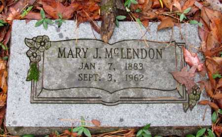 MCLENDON, MARY J - Franklin County, Arkansas   MARY J MCLENDON - Arkansas Gravestone Photos
