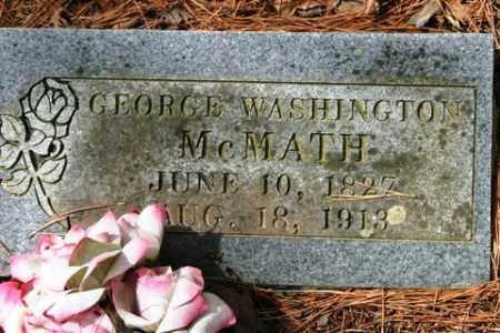 MCMATH, GEORGE WASHINGTON - Franklin County, Arkansas | GEORGE WASHINGTON MCMATH - Arkansas Gravestone Photos