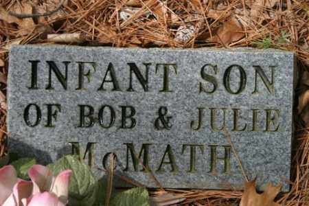 MCMATH, INFANT SON - Franklin County, Arkansas | INFANT SON MCMATH - Arkansas Gravestone Photos