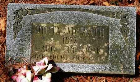 MCMATH, JULIA - Franklin County, Arkansas   JULIA MCMATH - Arkansas Gravestone Photos