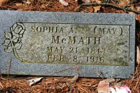 MCMATH, SOPHIA ANN - Franklin County, Arkansas | SOPHIA ANN MCMATH - Arkansas Gravestone Photos