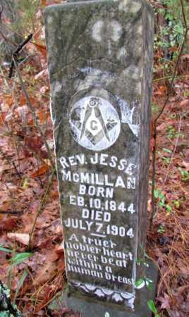 MCMILLAN, JESSE, REV - Franklin County, Arkansas   JESSE, REV MCMILLAN - Arkansas Gravestone Photos