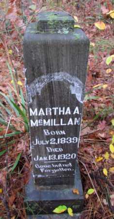 MCMILLAN, MARTHA A - Franklin County, Arkansas   MARTHA A MCMILLAN - Arkansas Gravestone Photos