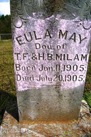 MILAM, EULA MAY - Franklin County, Arkansas | EULA MAY MILAM - Arkansas Gravestone Photos