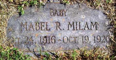 MILAM, MABEL R - Franklin County, Arkansas | MABEL R MILAM - Arkansas Gravestone Photos