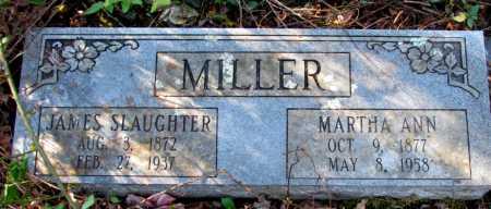 MILLER, MARTHA ANN - Franklin County, Arkansas | MARTHA ANN MILLER - Arkansas Gravestone Photos