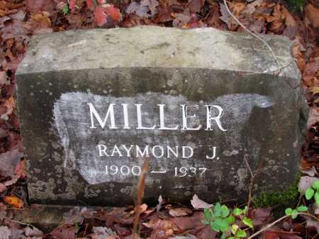 MILLER, RAYMOND J - Franklin County, Arkansas | RAYMOND J MILLER - Arkansas Gravestone Photos