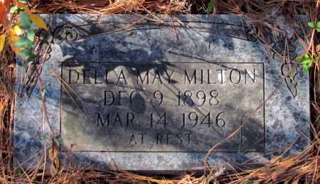MILTON, DELLA MAY - Franklin County, Arkansas | DELLA MAY MILTON - Arkansas Gravestone Photos