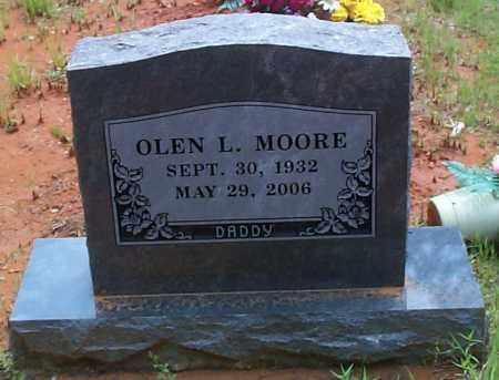 MOORE, OLEN L - Franklin County, Arkansas | OLEN L MOORE - Arkansas Gravestone Photos