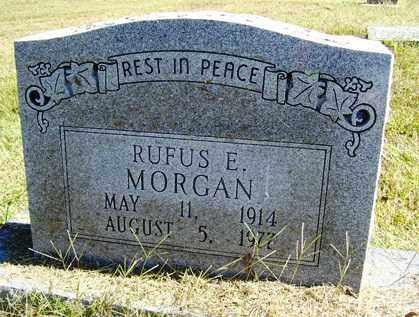 MORGAN, RUFUS E - Franklin County, Arkansas | RUFUS E MORGAN - Arkansas Gravestone Photos