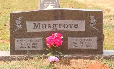 MUSGROVE, BILLY EARL - Franklin County, Arkansas   BILLY EARL MUSGROVE - Arkansas Gravestone Photos