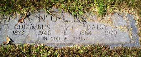 NOLEN, COLUMBUS - Franklin County, Arkansas   COLUMBUS NOLEN - Arkansas Gravestone Photos