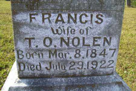 NOLEN, ELIZABETH FRANCES CATHERINE - Franklin County, Arkansas | ELIZABETH FRANCES CATHERINE NOLEN - Arkansas Gravestone Photos