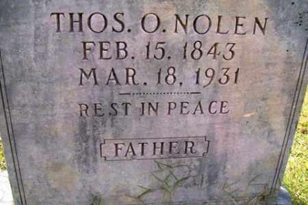 NOLEN, THOMAS O. - Franklin County, Arkansas   THOMAS O. NOLEN - Arkansas Gravestone Photos