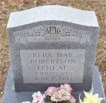 ROBERTSON O'NEAL, REBA MAE - Franklin County, Arkansas | REBA MAE ROBERTSON O'NEAL - Arkansas Gravestone Photos