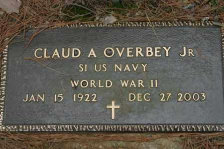 OVERBEY, JR (VETERAN WWII), CLAUD A - Franklin County, Arkansas   CLAUD A OVERBEY, JR (VETERAN WWII) - Arkansas Gravestone Photos
