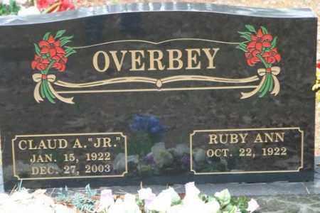 OVERBEY, JR, CLAUD A - Franklin County, Arkansas   CLAUD A OVERBEY, JR - Arkansas Gravestone Photos
