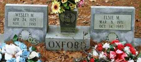 OXFORD, WESLEY M - Franklin County, Arkansas | WESLEY M OXFORD - Arkansas Gravestone Photos
