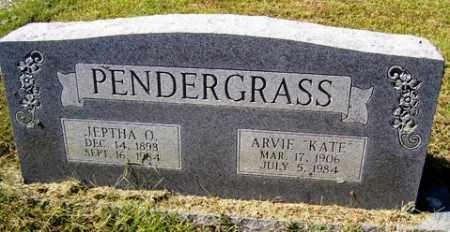 PENDERGRASS, JEPTHA OLAF - Franklin County, Arkansas | JEPTHA OLAF PENDERGRASS - Arkansas Gravestone Photos
