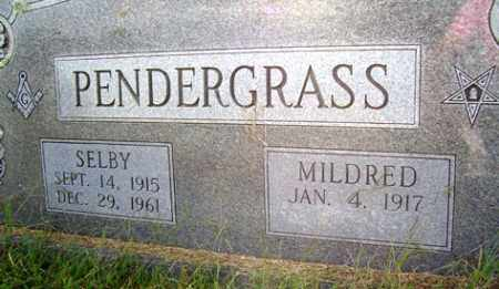 PENDERGRASS, SELBY - Franklin County, Arkansas | SELBY PENDERGRASS - Arkansas Gravestone Photos