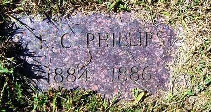 PHILLIPS, E. C. - Franklin County, Arkansas | E. C. PHILLIPS - Arkansas Gravestone Photos