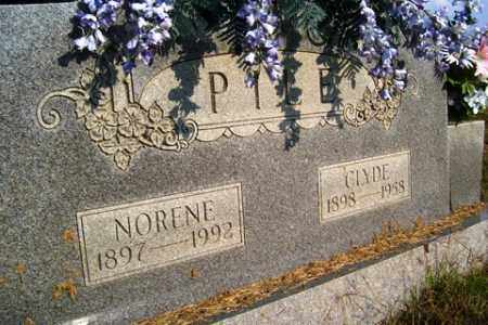 ROGERS PILE, NORENE - Franklin County, Arkansas | NORENE ROGERS PILE - Arkansas Gravestone Photos