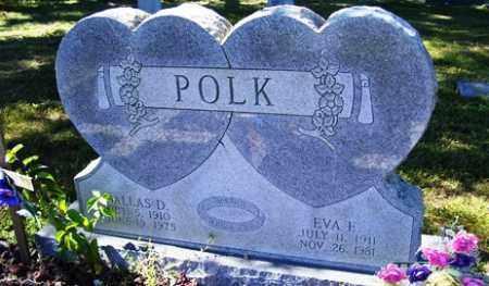 POLK, EVA E. - Franklin County, Arkansas | EVA E. POLK - Arkansas Gravestone Photos
