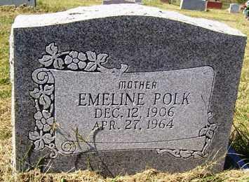 POLK, EMELINE - Franklin County, Arkansas | EMELINE POLK - Arkansas Gravestone Photos