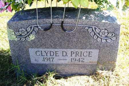 PRICE, CLYDE D. - Franklin County, Arkansas | CLYDE D. PRICE - Arkansas Gravestone Photos