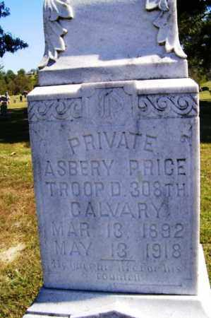PRICE (VETERAN), ASBERRY - Franklin County, Arkansas | ASBERRY PRICE (VETERAN) - Arkansas Gravestone Photos