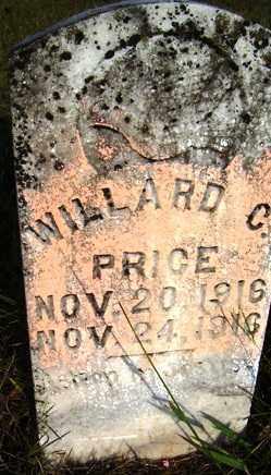 PRICE, WILLARD C. - Franklin County, Arkansas   WILLARD C. PRICE - Arkansas Gravestone Photos