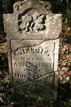 QUESENBURY, NELCIE - Franklin County, Arkansas   NELCIE QUESENBURY - Arkansas Gravestone Photos