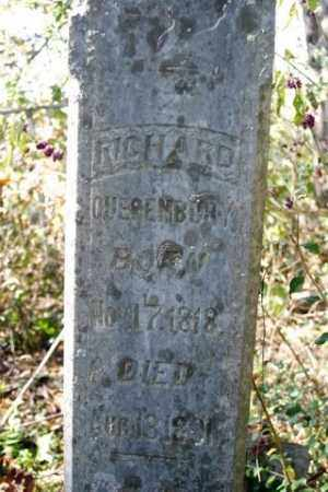 QUESENBURY, RICHARD - Franklin County, Arkansas | RICHARD QUESENBURY - Arkansas Gravestone Photos