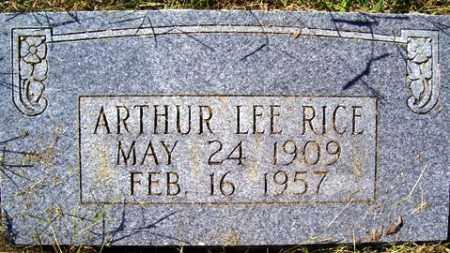 RICE, ARTHUR LEE - Franklin County, Arkansas | ARTHUR LEE RICE - Arkansas Gravestone Photos