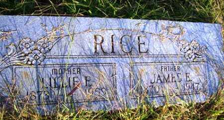 RICE, LILLIE FRANCES - Franklin County, Arkansas | LILLIE FRANCES RICE - Arkansas Gravestone Photos
