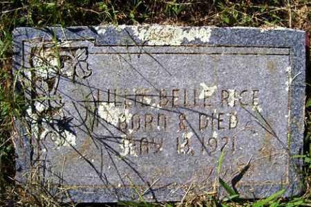 RICE, LILLIE BELLE - Franklin County, Arkansas   LILLIE BELLE RICE - Arkansas Gravestone Photos